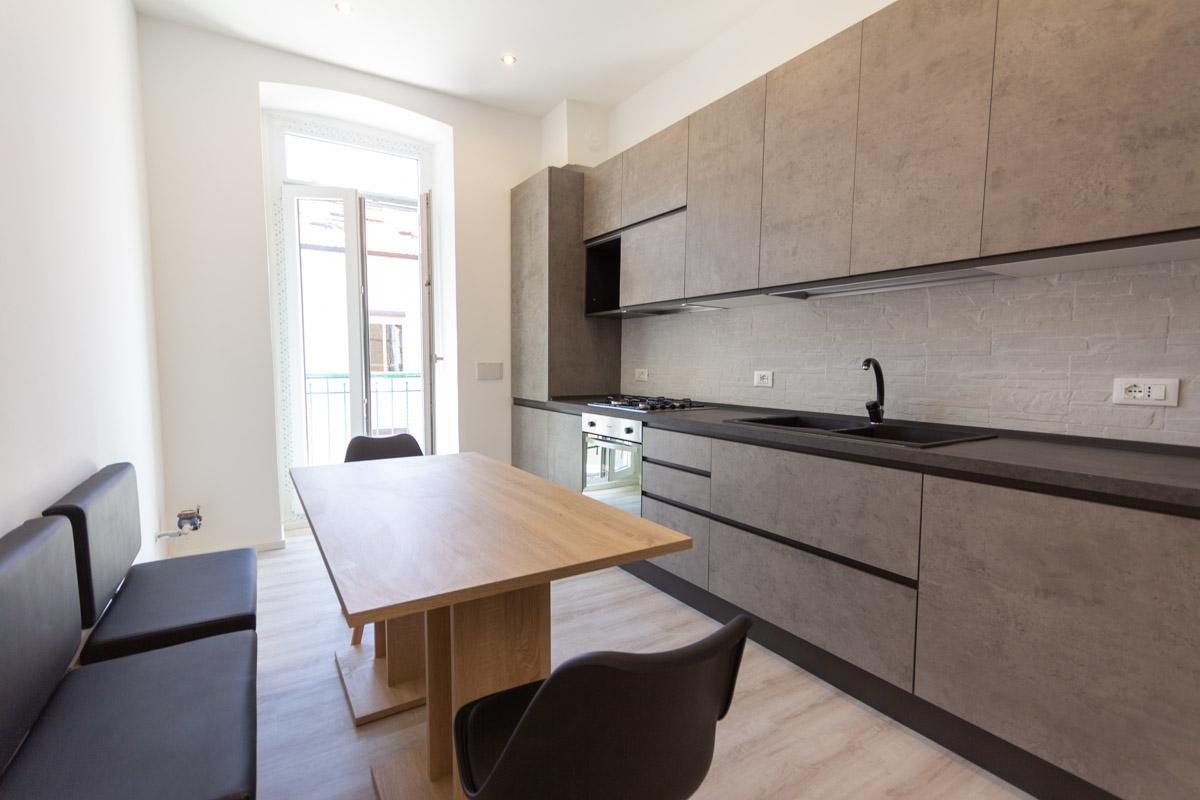 OSPEDALE MAGGIORE | Appartamento pari a primo ingresso, ammobiliato, completamente ristrutturato